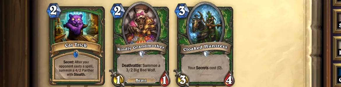 Hearthstone KAR Hunter