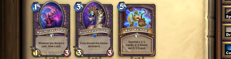 Hearthstone KAR Warlock