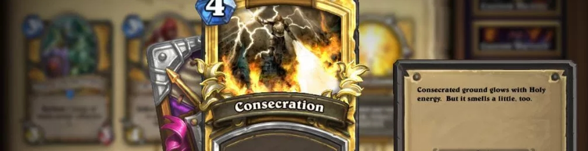 Hearthstone Noob Consecration