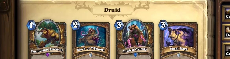 Hearthstone OG Druid
