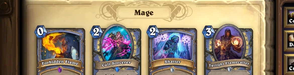 Hearthstone OG Mage