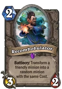 Hearthstone Recombobulator