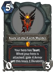 Hearthstone Scale of the Earth-Warder