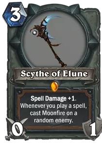 Hearthstone Scythe of Elune