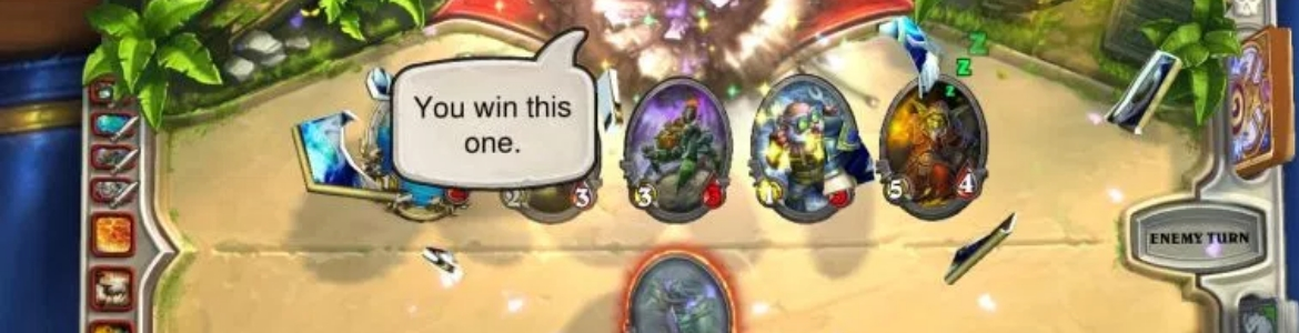 Hearthstone Tech Win