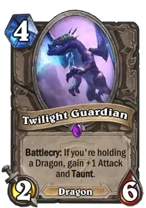 Hearthstone Twilight Guardian