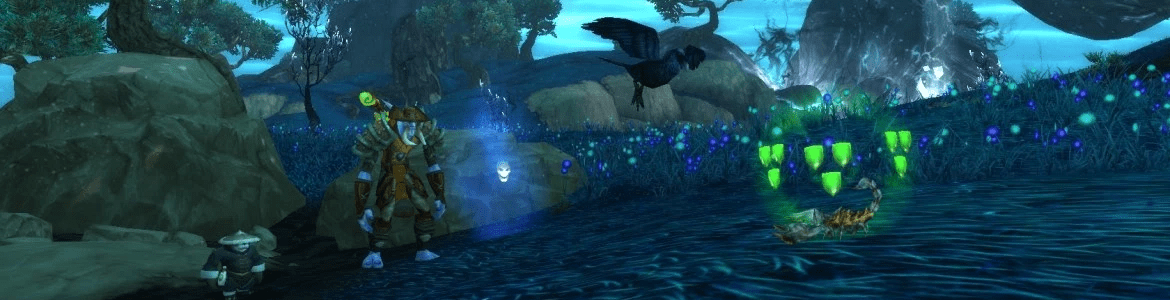 WoW Pet Battle Night Raven Swoop