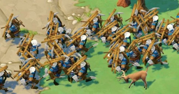 Age of Empires Online Dwarf Rush Swarm