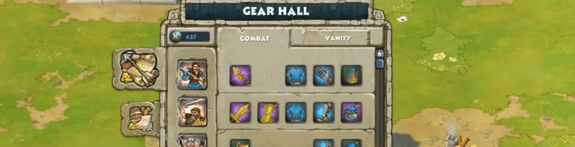 Age of Empires Online Gear Hall