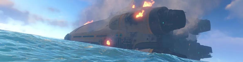 Subnautica Ship