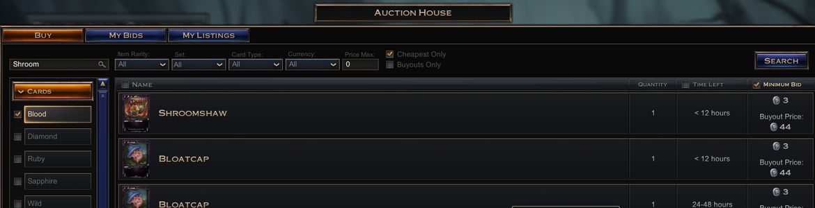 Hex Auction House