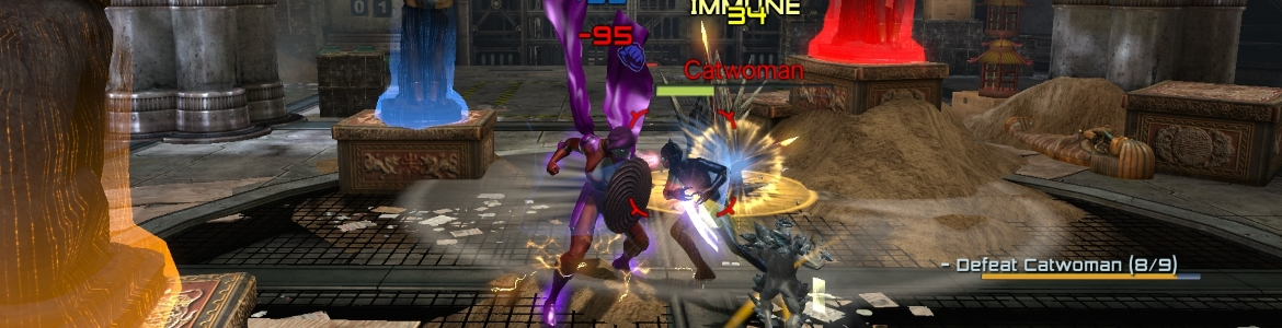 DCUO Catwoman Charge
