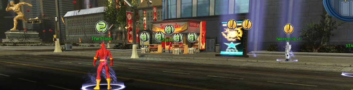 DCUO Central City Flash