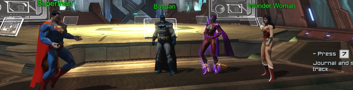 DCUO Justice League And Me