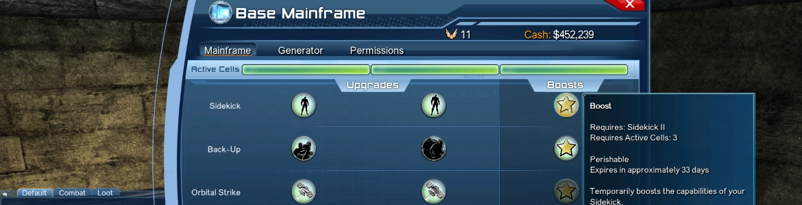 DCUO Mainframe