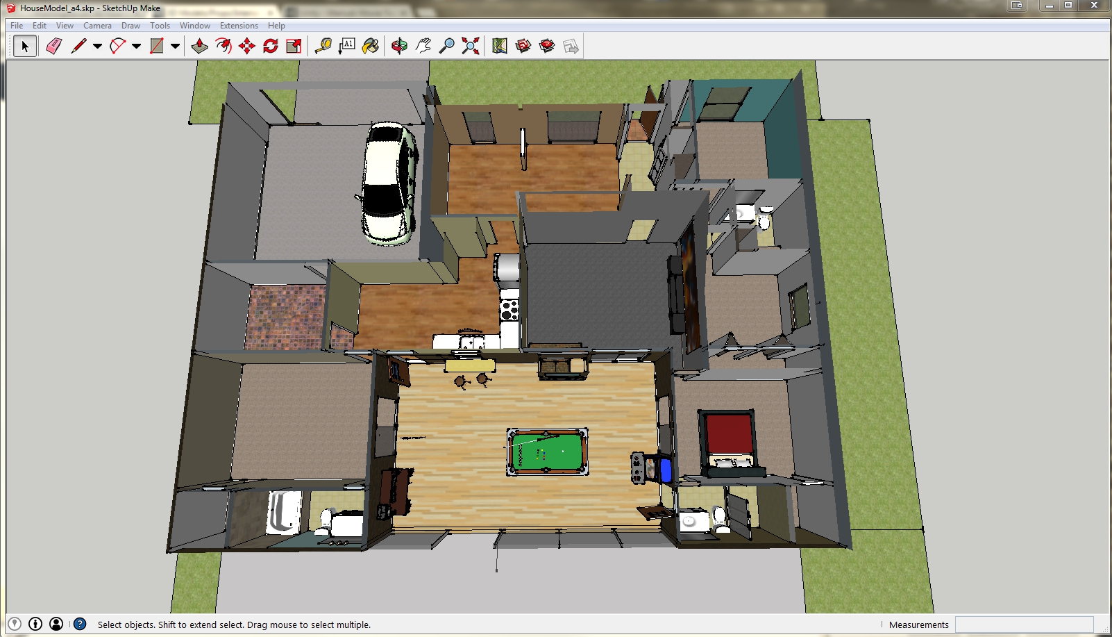 Make a 3d model of my house
