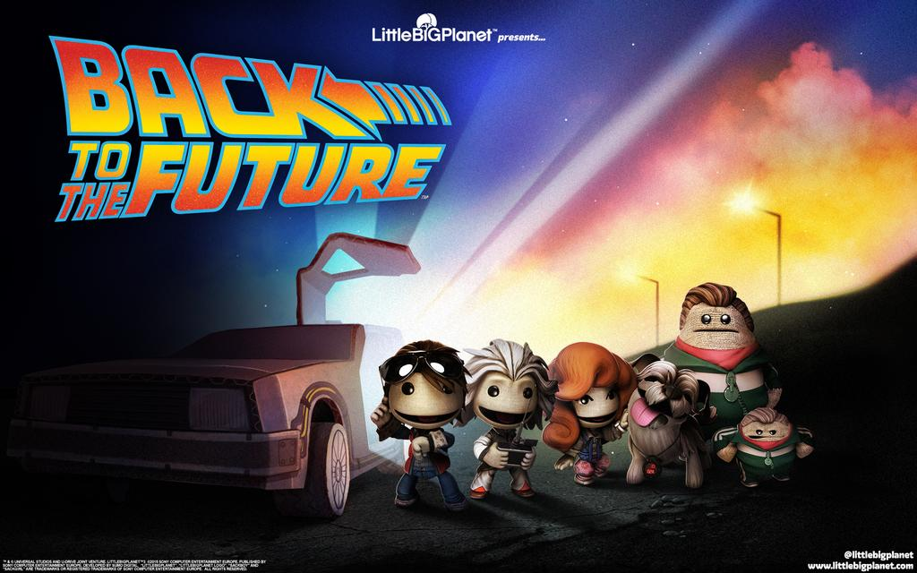 Back to the Future is Time Traveling to LittleBigPlanet