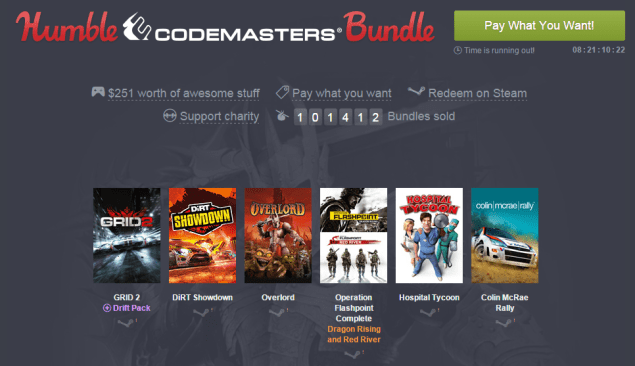 Humble Codemasters Bundle