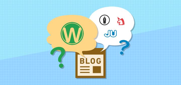 ワードプレスか無料ブログサービスか、どちらを選んでブログを運営していくべきかをケースごとに解説