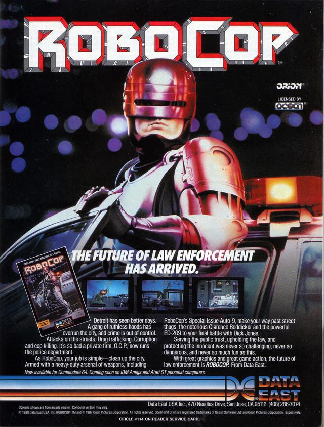 RoboCop Download Game GameFabrique
