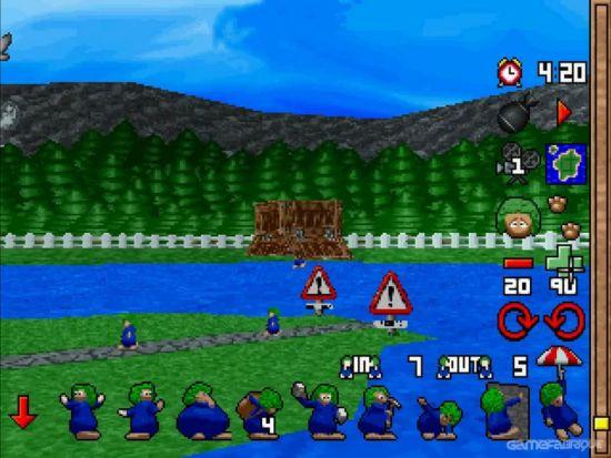 Lemmings 3D PS1 ROM #16