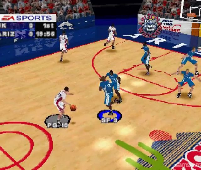 First Off There Is A Lot Packed Into This Game And Each One Of These Features Just Reinforces The Feel Of Real College Hoops March Madness 98 Comes Packed