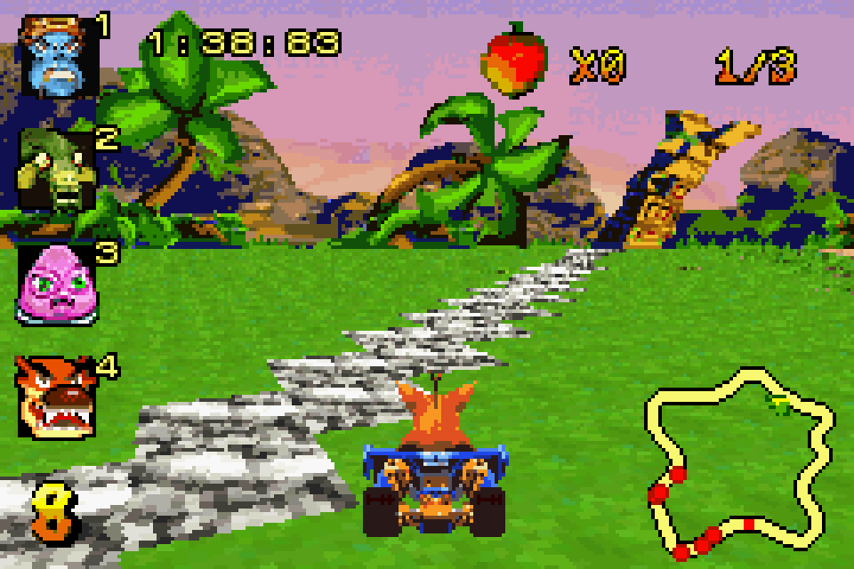 Crash Nitro Kart Download Game GameFabrique
