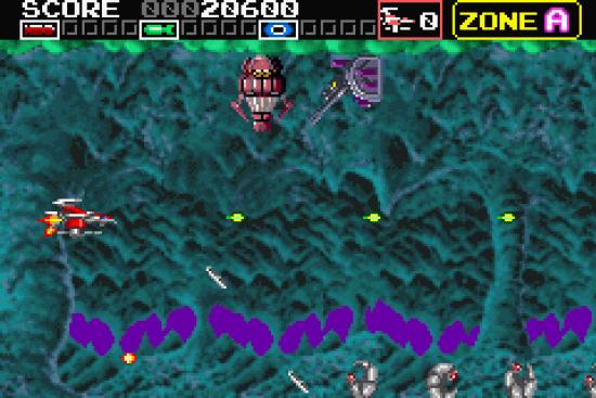 Darius R GBA ROM #4