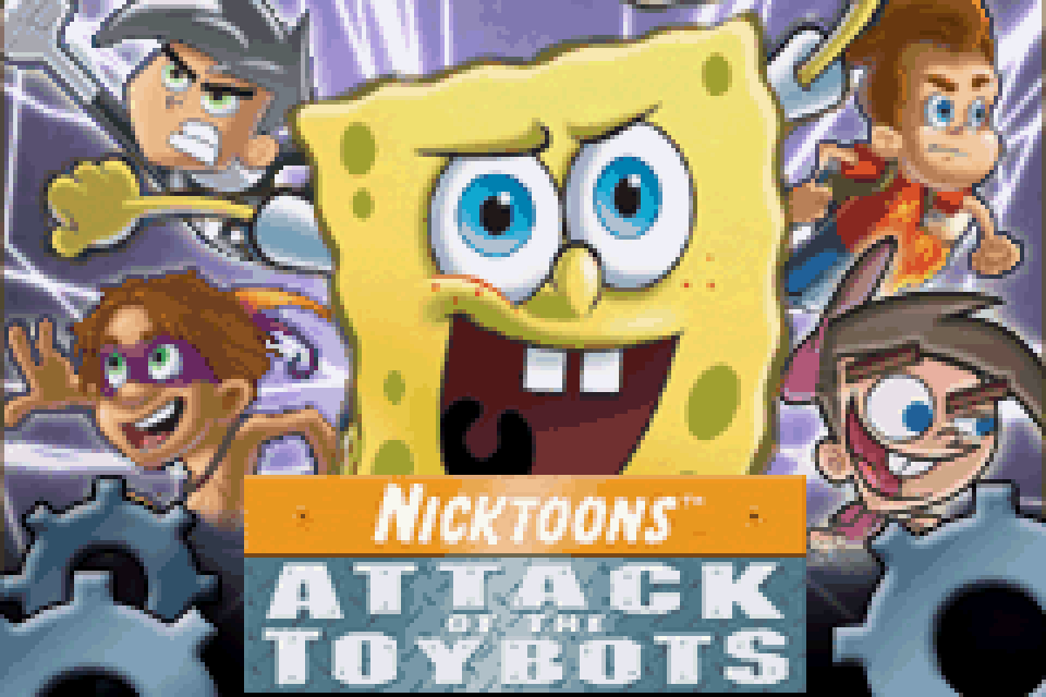 Nicktoons Attack Of The Toybots Download Game GameFabrique
