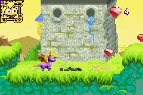 Spyro Adventure GBA ROM #19