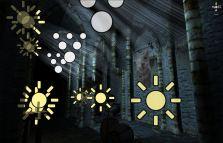 In editor screen shot of Unity scene