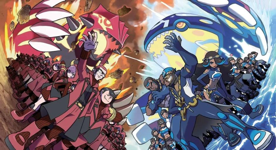 Pokemon Omega Ruby Alpha Sapphire - Primal Reversions