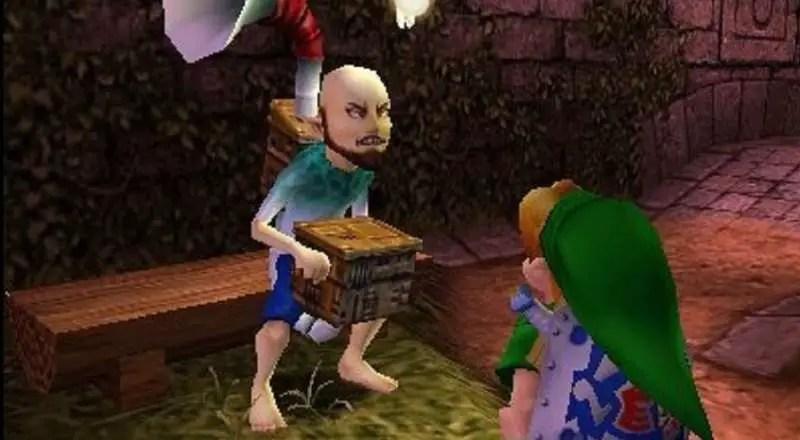 Legend of Zelda Majoras Mask 3D - Windmill Guy