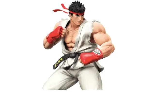 Super Smash Bros Wii U - Ryu