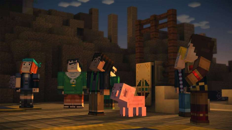 Minecraft Story Mode Episode 2 Assembly Required Review Game