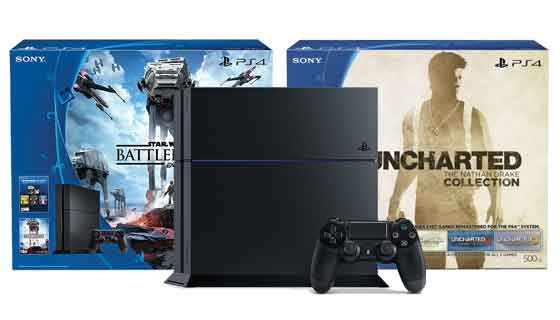 Sony Extends 300 Star Wars Uncharted Ps4 Console Bundles