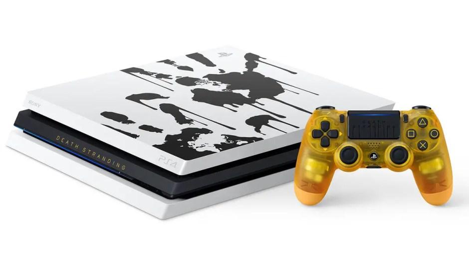 Death Stranding PS4 console bundle