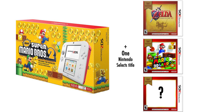 Gamestop Giving Away Free 3ds Game With New Super Mario Bros 2ds