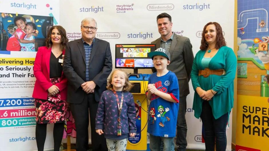 Nintendo Starlight Gaming station