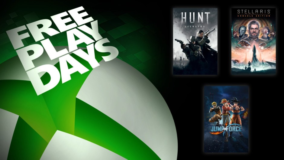 Xbox Free Play Days: Hunt Showdown, Jump Force, Stellaris: Console Edition