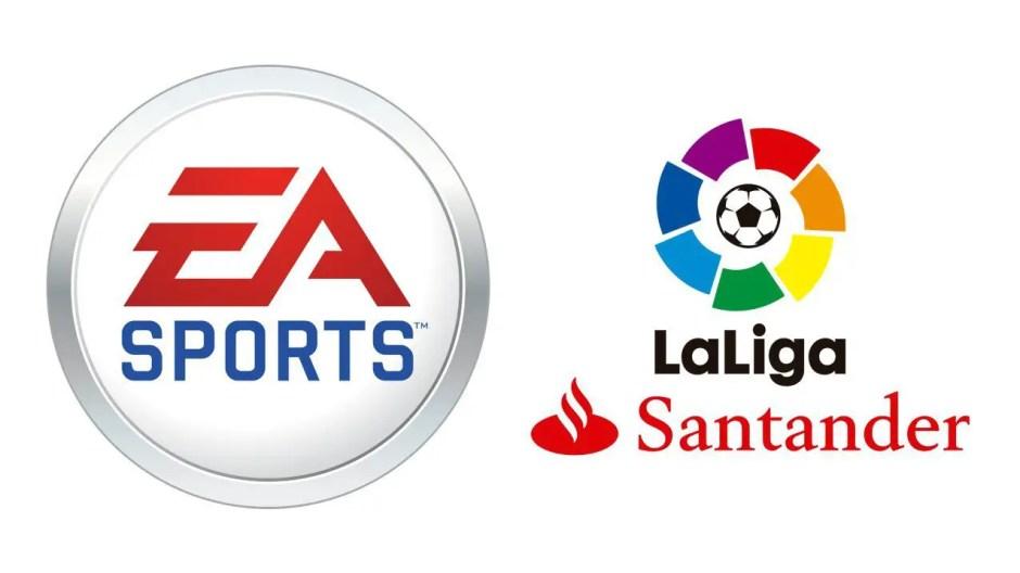 EA Sports La Liga logos