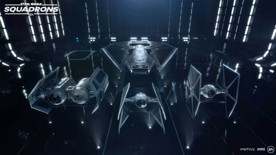 Star Wars: Squadrons TIE fighters