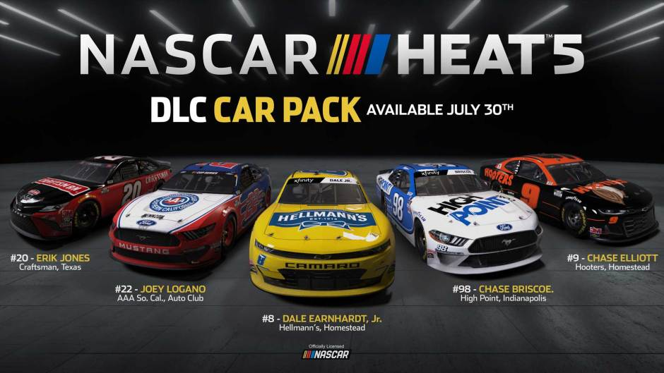 NASCAR Heat 5 July DLC