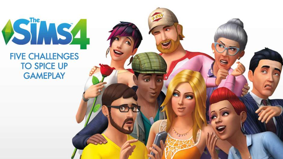 The Sims 4 five challenges
