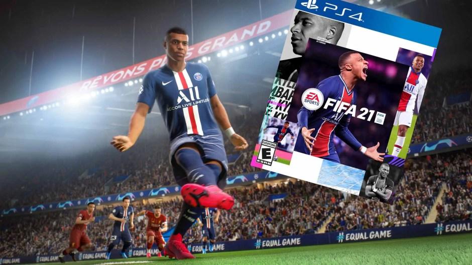 FIFA 21 cover art