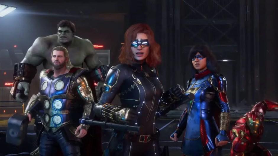 Marvel's Avengers launch trailer