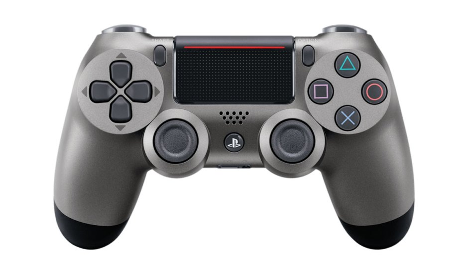 PS4 DualShock 4 controller steel black