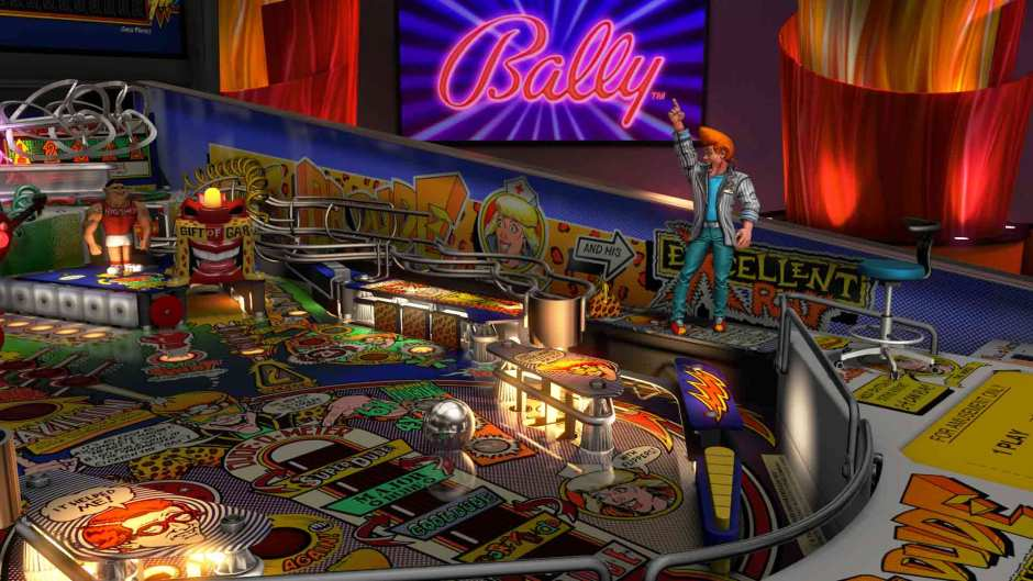 Dr. Dude and His Excellent Ray table in Williams Pinball: Volume 6 for Pinball FX3