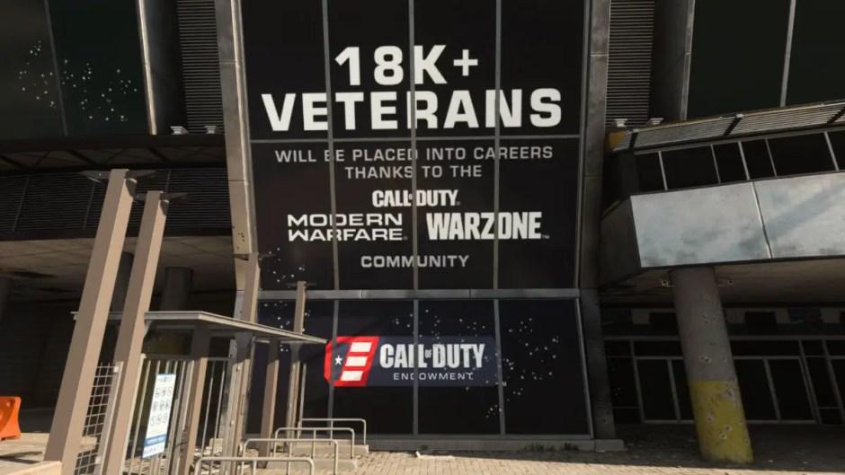 Call of Duty Endowment Modern Warfare and Warzone screenshot