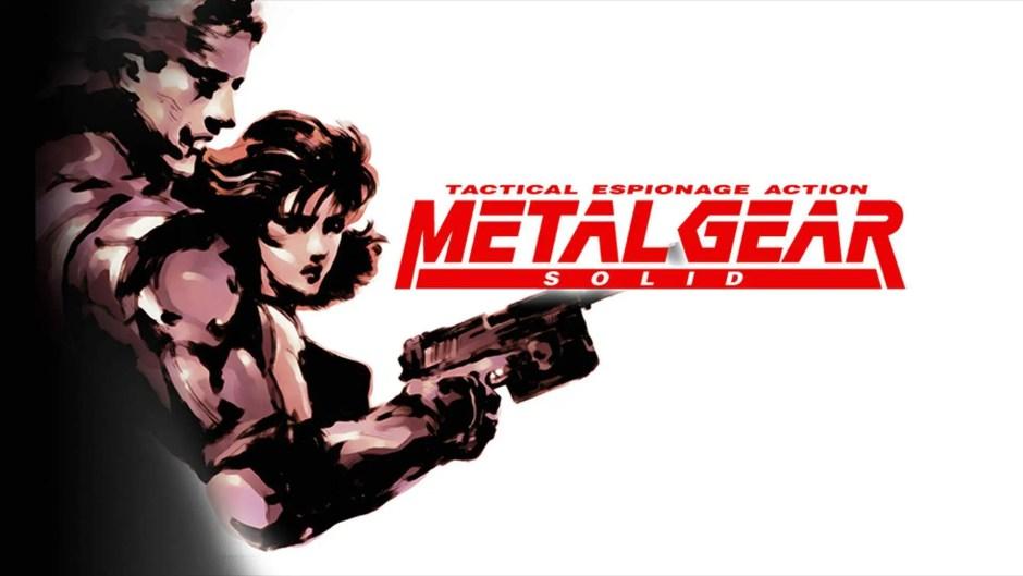 Metal Gear Solid art logo